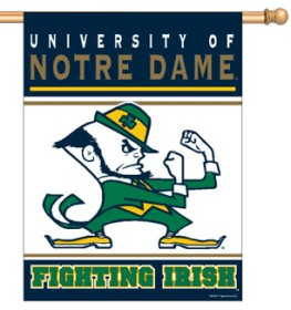 "Notre Dame Fighting Irish 27""x37"" Banner"