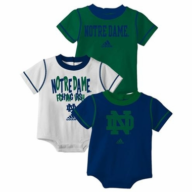Notre Dame 3 Pack Creeper Set
