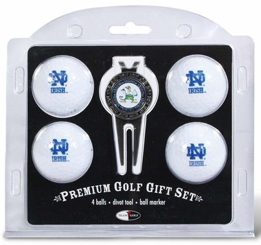 Notre Dame 4 Ball and Divot Tool Set