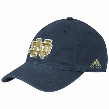 Notre Dame Adjustable Slouch Hat (Navy)