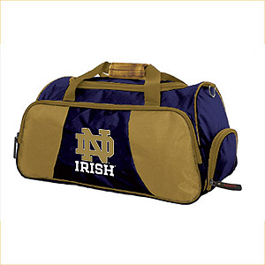 Notre Dame Athletic Duffel