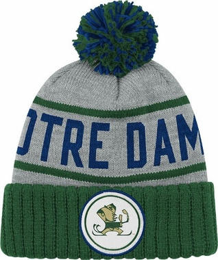 Notre Dame High 5 Vintage Cuffed Pom Hat