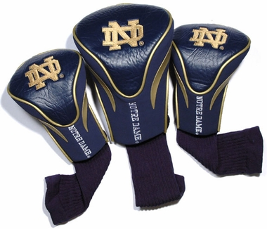 Notre Dame Set of Three Contour Headcovers