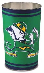 "Notre Dame Fighting Irish 15"" Waste Basket"