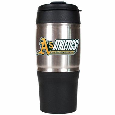 Oakland Athletics 18oz Oversized Travel Tumbler