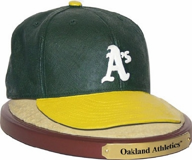 Oakland Athletics Ball Cap Figurine