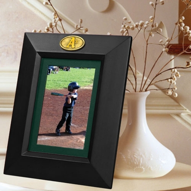 Oakland Athletics BLACK Portrait Picture Frame