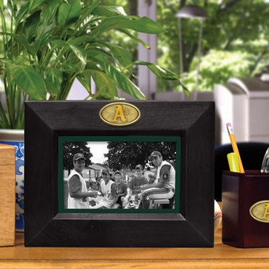 Oakland Athletics BROWN Landscape Picture Frame