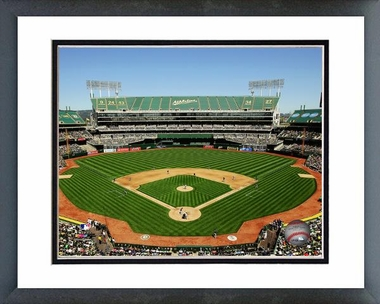 Oakland Athletics O.co Coliseum 2012 16x20 Framed and Double-Matted Photo