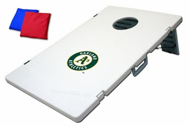 Oakland Athletics Tailgate Toss 2.0 Cornhole Beanbag Game