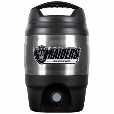 Oakland Raiders Heavy Duty Tailgate Jug