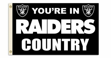 Oakland Raiders 3' x 5' Flag (Country) (F)