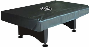 Oakland Raiders 8 Foot Pool Table Cover