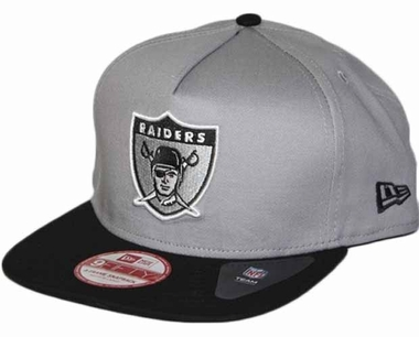 Oakland Raiders 9FIFTY Throwback A-Tone Snapback Hat