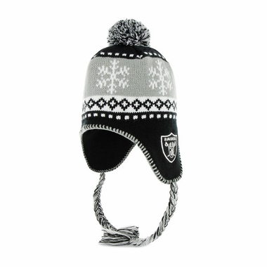 Oakland Raiders Abomination Tassel Knit Hat