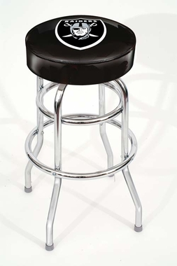 Oakland Raiders Bar Stool