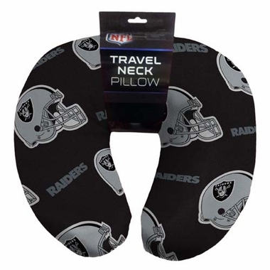 Oakland Raiders Beaded Neck Pillow