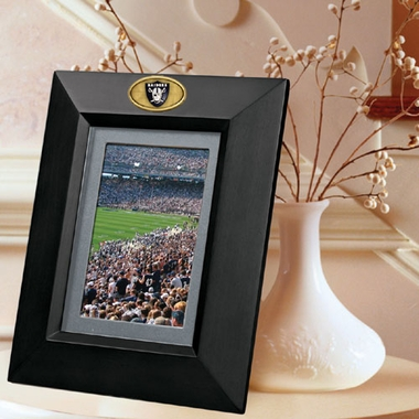 Oakland Raiders BLACK Portrait Picture Frame