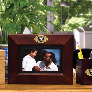 Oakland Raiders BROWN Landscape Picture Frame