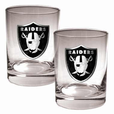 Oakland Raiders Double Rocks Set