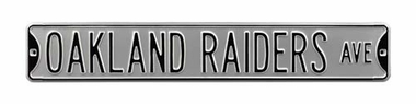 Oakland Raiders Dr Street Sign