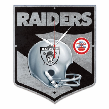 Oakland Raiders High Definition Wall Clock (Vintage)