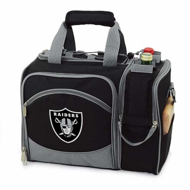 Oakland Raiders Malibu Picnic Cooler (Black)