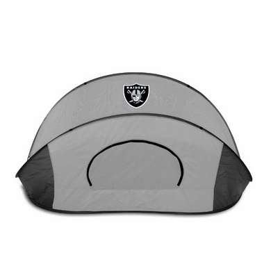 Oakland Raiders Manta Sun Shelter (Black/Gray)