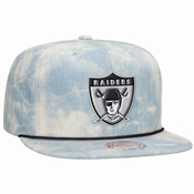 0d93cfcad97 Oakland Raiders Mitchell   Ness Lite Denim Adjustable Snap Back Hat