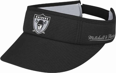 Oakland Raiders Mitchell & Ness Throwback Adjustable Summer Visor