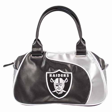 Oakland Raiders Perf-ect Bowler Purse
