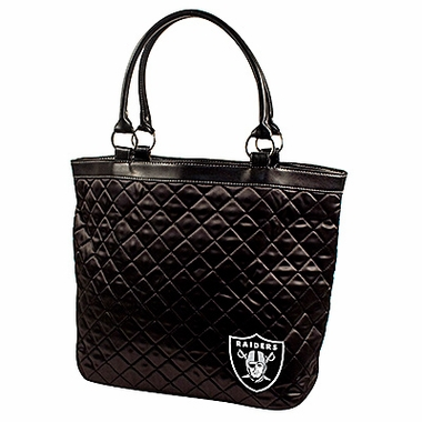Oakland Raiders Quilted Tote