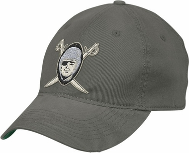 0cd9bc24522 Oakland Raiders Retro Sport Throwback Flex Slouch Hat