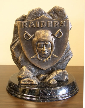 Oakland Raiders Tim Wolfe Statue