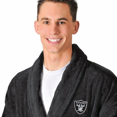 Oakland Raiders UNISEX Bath Robe (Team Color)