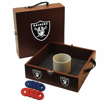 Oakland Raiders Washer Toss Game