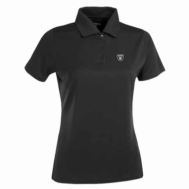 Oakland Raiders Womens Exceed Polo (Color: Black)