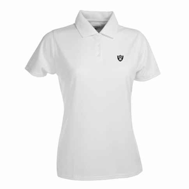 Oakland Raiders Womens Exceed Polo (Color: White)