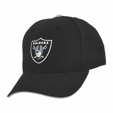 Oakland Raiders Youth Adjustable Slouch Hat