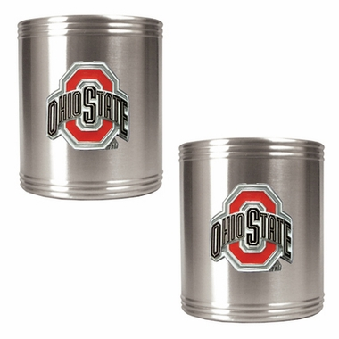 Ohio State 2 Can Holder Set