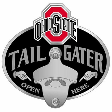 Ohio State Bottle Opener Hitch Cover