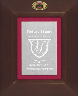 Ohio State BROWN Portrait Picture Frame