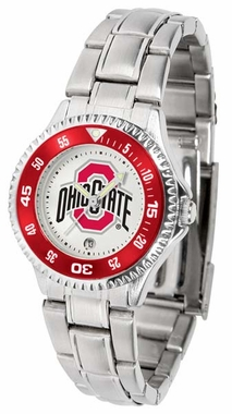 Ohio State Competitor Women's Steel Band Watch