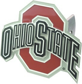 Ohio State Deluxe Trailer Hitch Cover