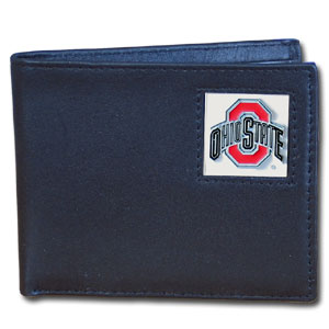 Ohio State Leather Bifold Wallet (F)