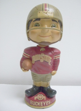 Ohio State Vintage Retro Bobble Head