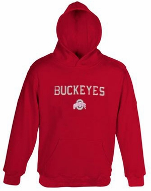 Ohio State YOUTH Basic Hooded Sweatshirt