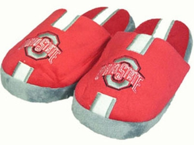 Ohio State YOUTH Team Stripe Slide Slippers - Large
