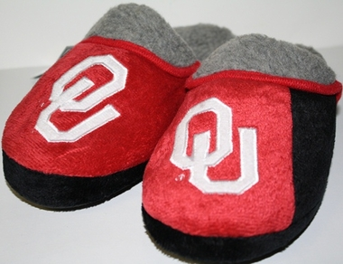 Oklahoma 2012 Sherpa Slide Slippers