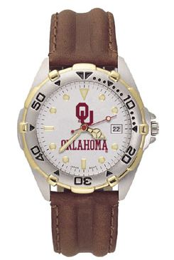 Oklahoma All Star Mens (Leather Band) Watch